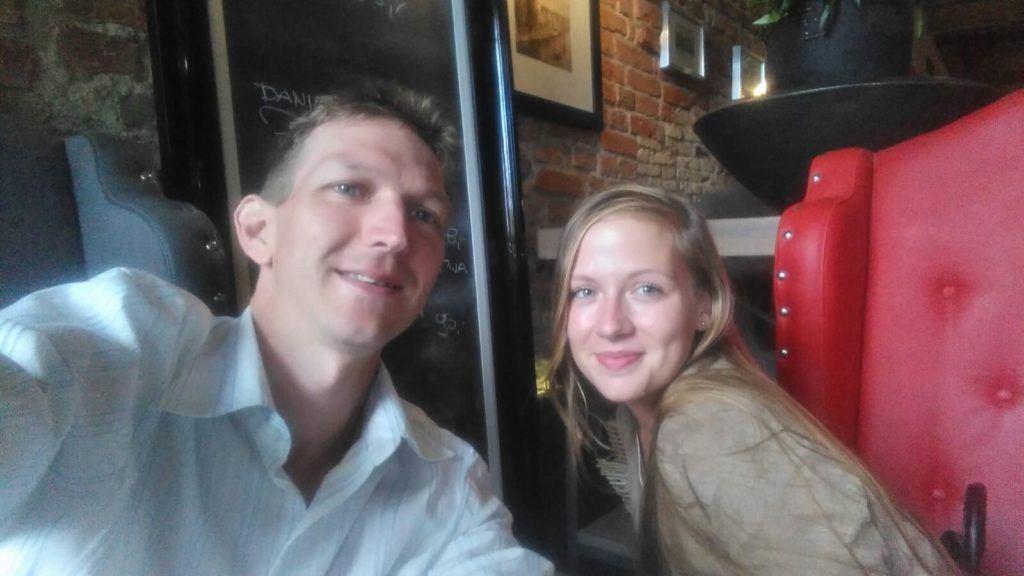 I selfie Miss and I in Kubicki
