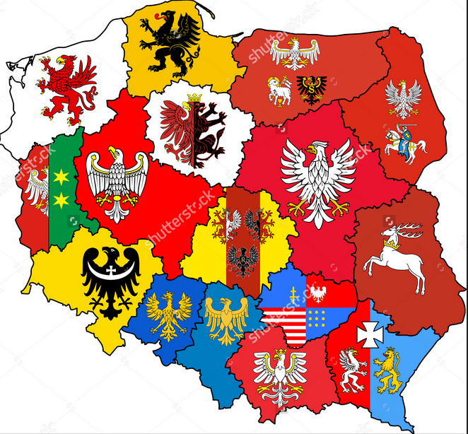 Jonny Blair's Where Ive Been Map in Poland (by flag)
