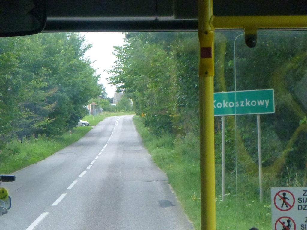 My journey to Starogard Gdanski took me through the village of Kokoszkowy