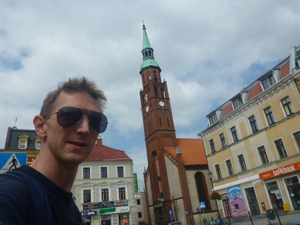 Touring Ola Mueller town - Starogard Gdanski