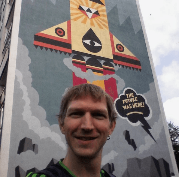 Quirky Encounters: Artistic Wall Murals in the District of Zaspa, Gdańsk