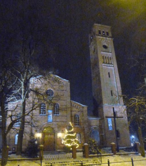 Biskupiec Tourism - Church of St. Caroline