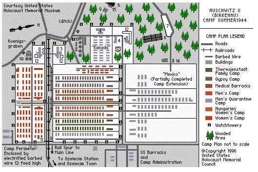 German Death Camp Auschwitz