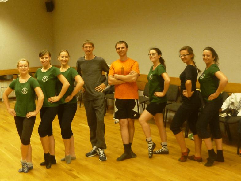 Dziwaczne Odkrycia: Irish Dancing in Gdańsk, Poland with Animus Saltandi and Dziewczyna w żółtych Spodniach
