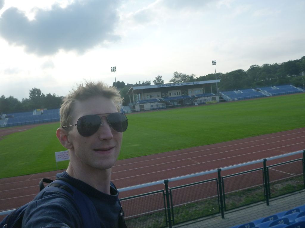 Deyna Stadium and Statue (Stadion Miejski im. Kazimierza Deyny)