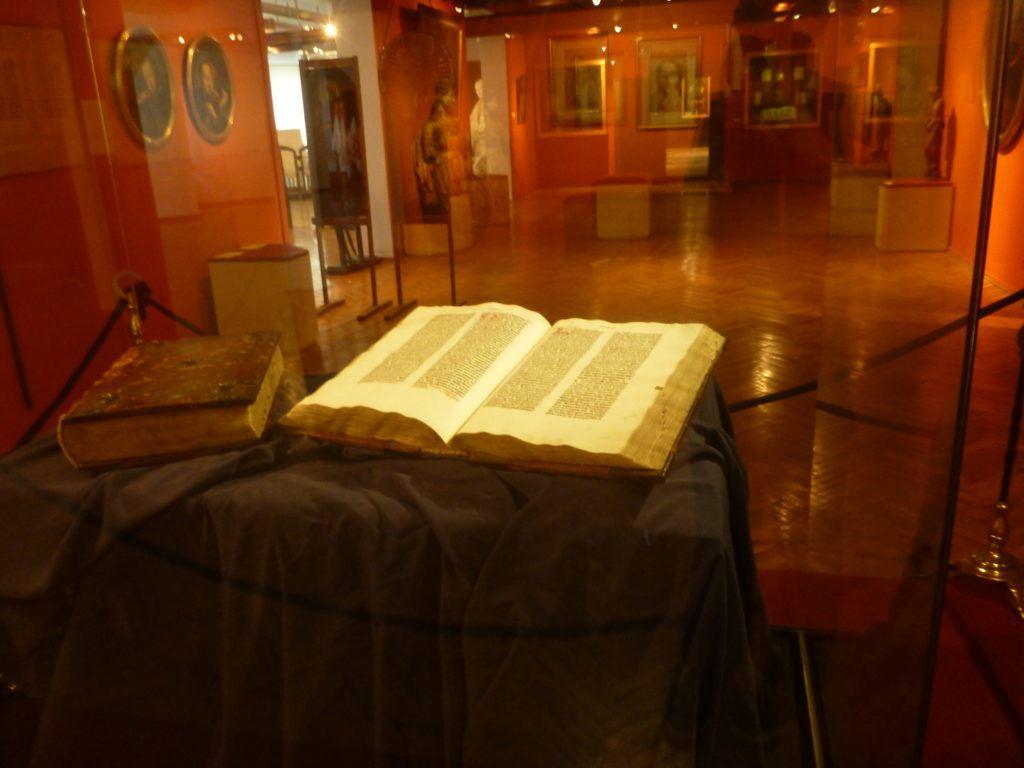 Gutenberg's Bible in Holy Pelplin