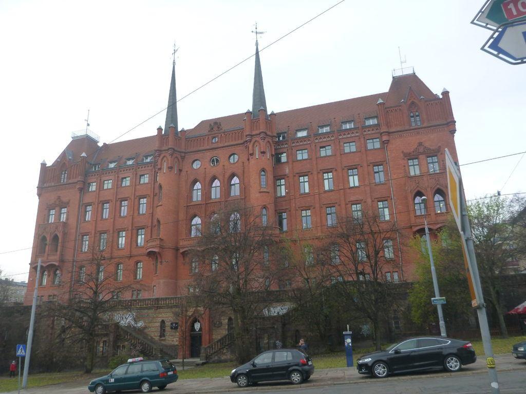Backpacking in Szczecin