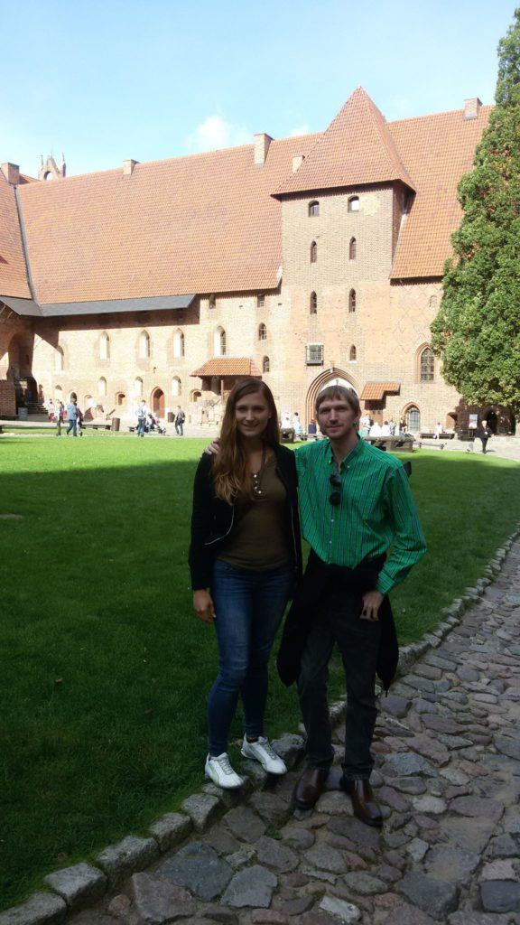 Enjoying Malbork Castle - stunning