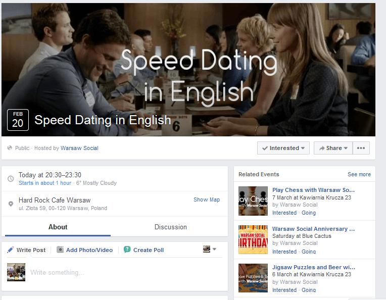 Hard rock speed dating