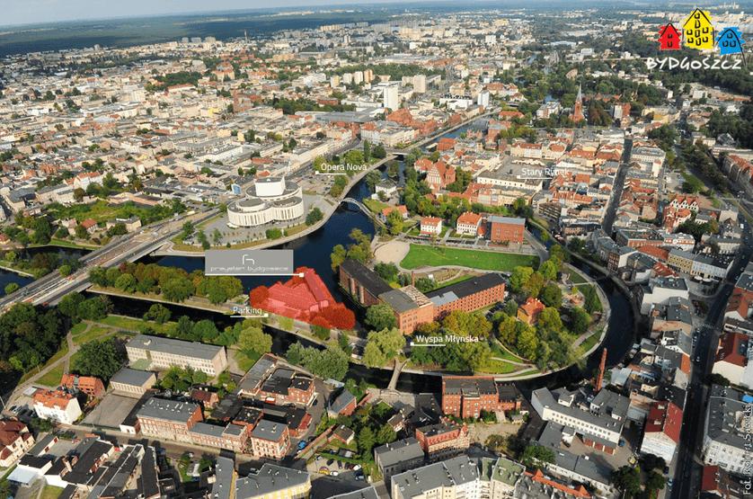 Backpacking Beautiful Bydgoszcz - Hotel Przystan in view
