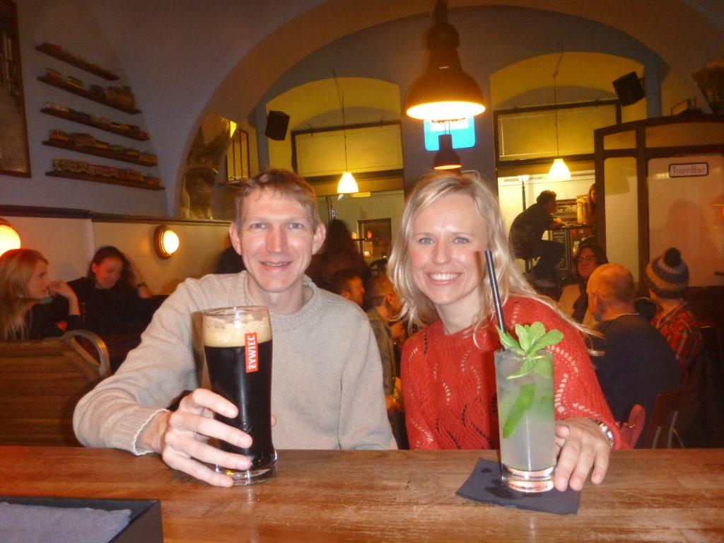 My emotional return to Krakow - drinks with Ania