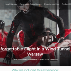 Dziwaczne Odkrycia: Indoor Sky Diving With Tinggly in Warszawa