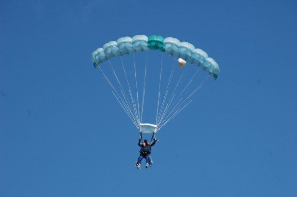 Sky Diving in New Zealand in 2007