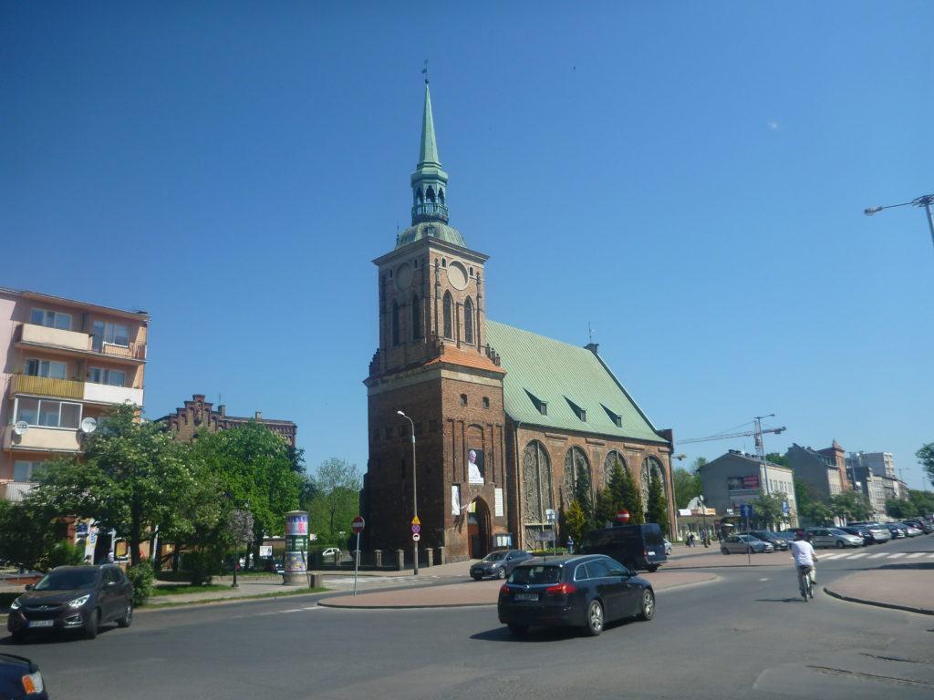 Getting to the Stadium - Gdansk Dolne Miasto Kościół św. Barbary