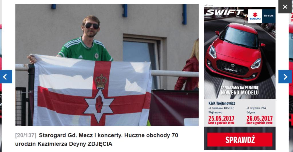 Starogard Gdanski Jonny Blair