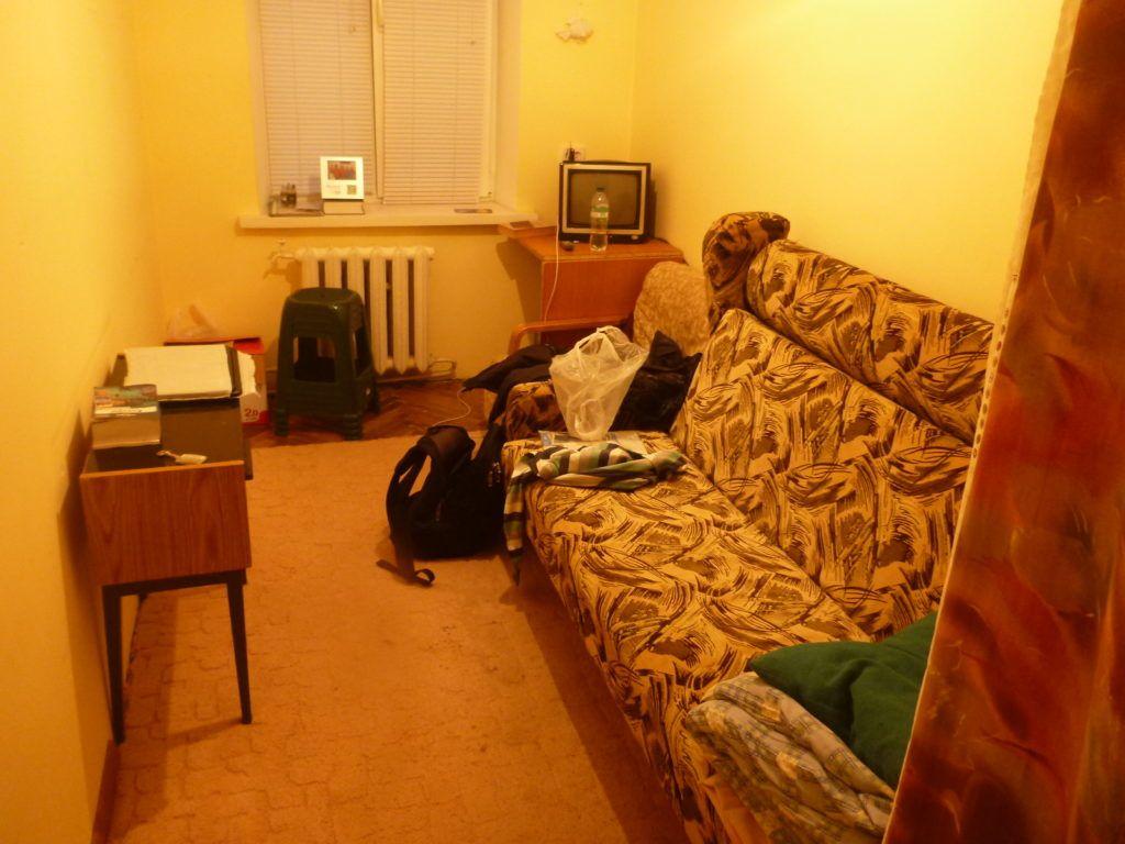 My homestay in Balka, Tiraspol, Transnistria.