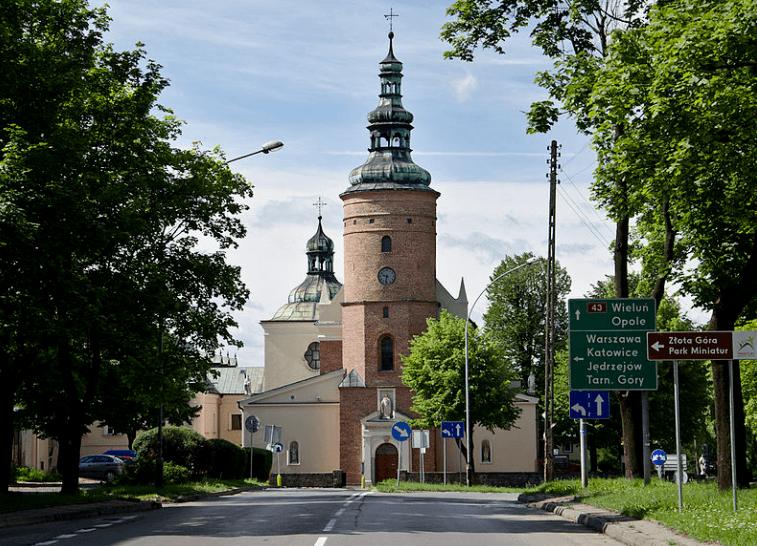 St. Barbara and Andrew Church in Częstochowa