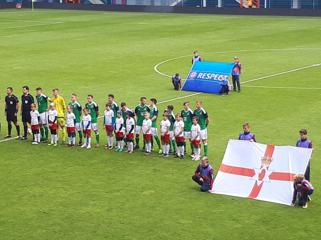 Piątkowe Picie: Watching Northern Ireland in Poland Again!! The Only Northern Irishman attending the Under 19 Match v. Germany in Gliwice!!