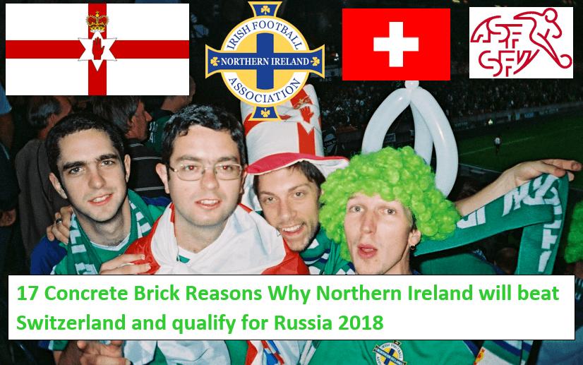 NORTHERN IRELAND BEAT SWITZERLAND November 2017