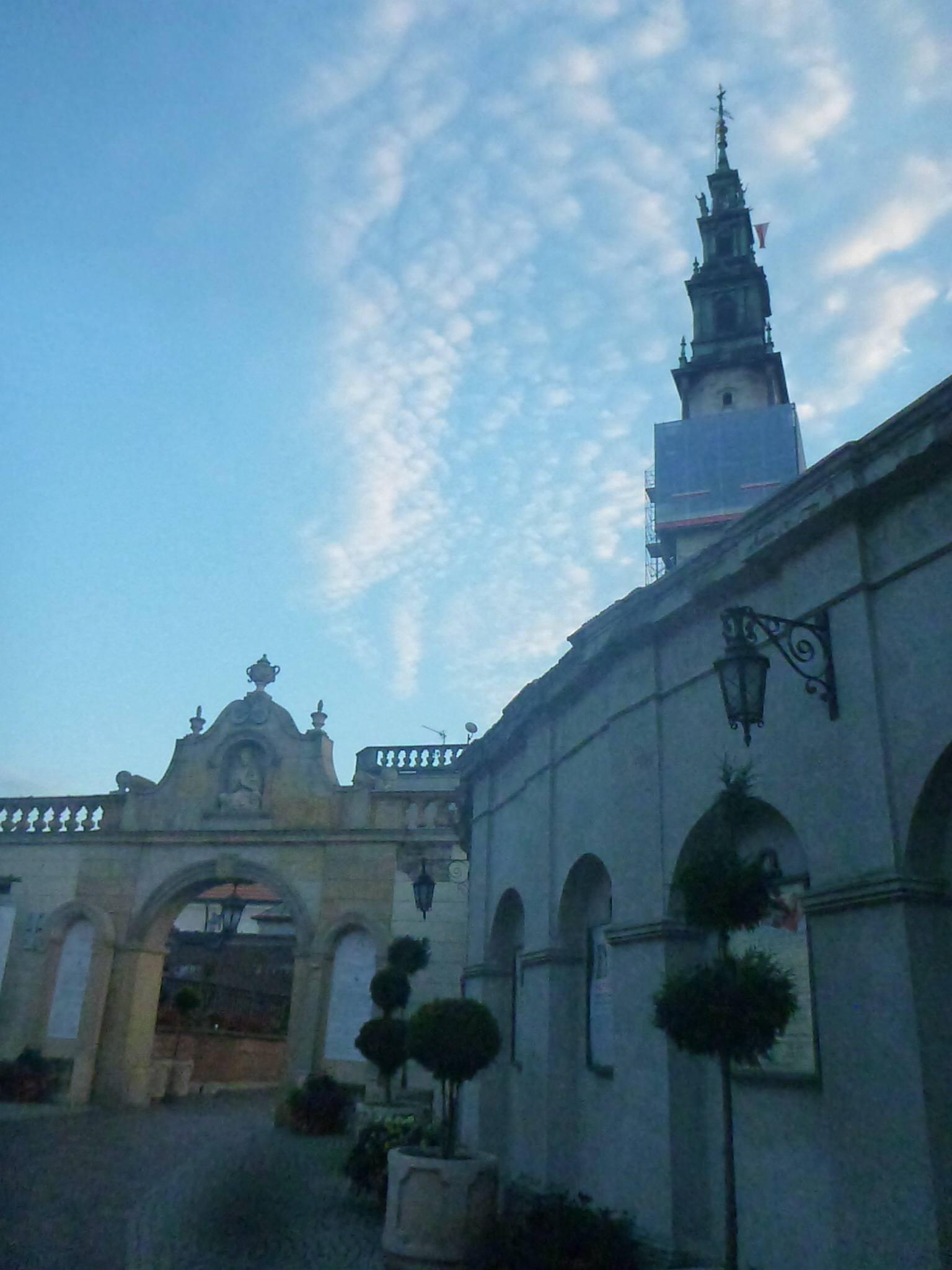Attending Sunday Morning Mass at Jasna Góra Monastery