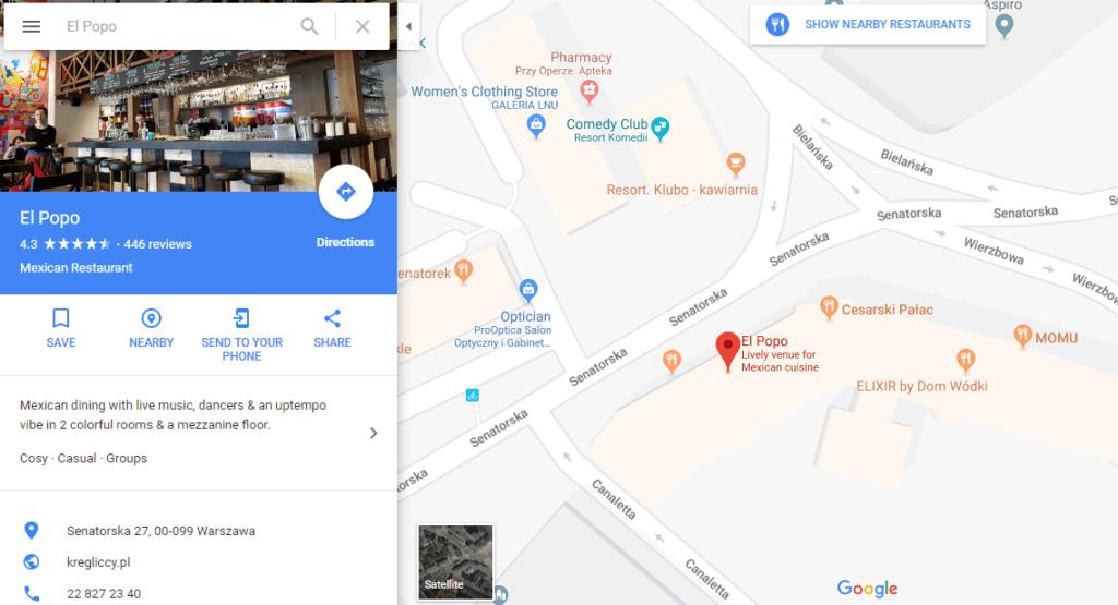 El Popo Best Mexican Restaurant Warsaw
