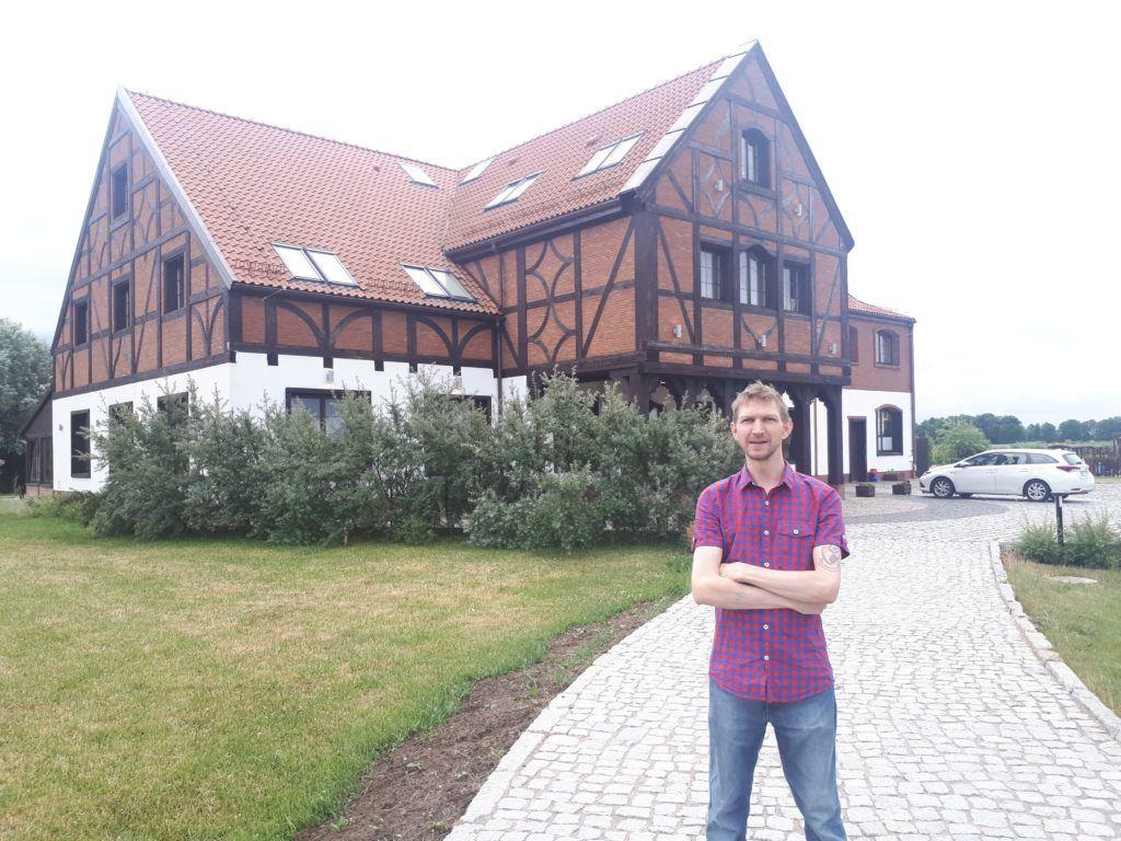My Tranquil Stay at Folwark Żuławski near Elbląg in Polish Countryside