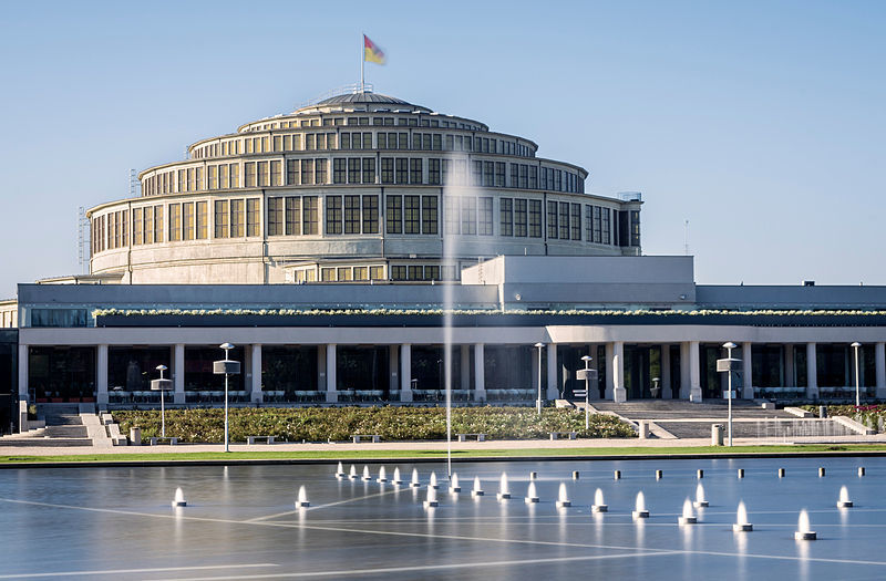 Wrocław for the Centennial Hall