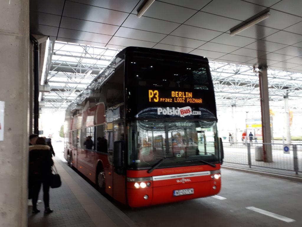 Leaving Poland: Warszawa to Berlin