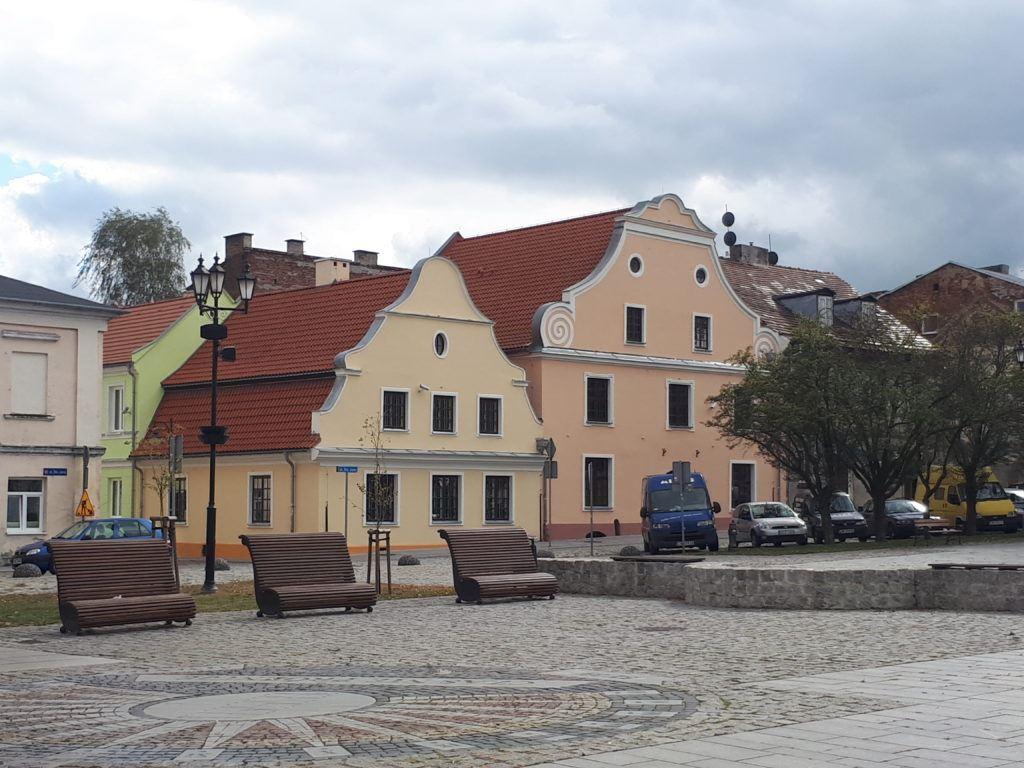 Old Town Square (Stary Rynek) in Włocławek.