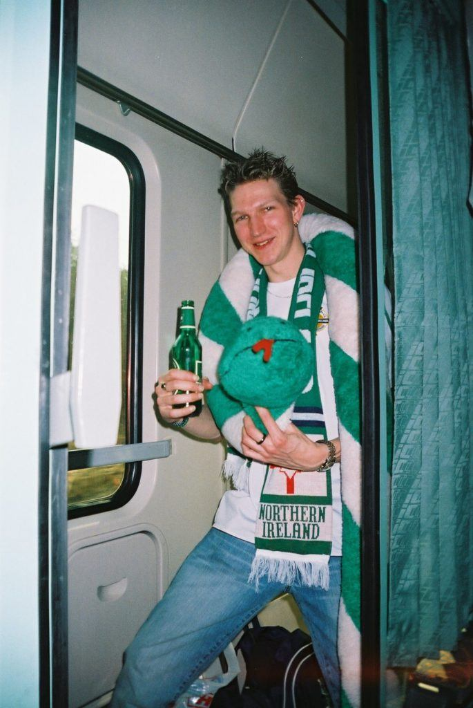 (Possibly) The first ever photo of me in Poland, in 2005
