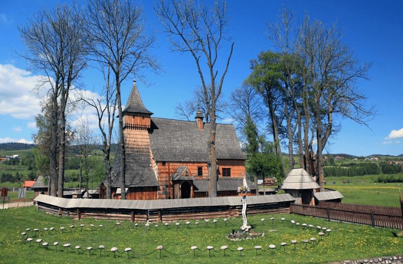 Lesser Poland churches UNESCO tourist