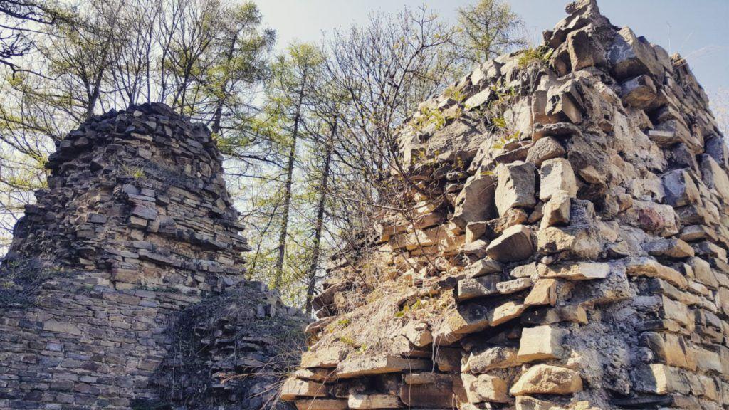 Remains of Fortress at Lanckorona