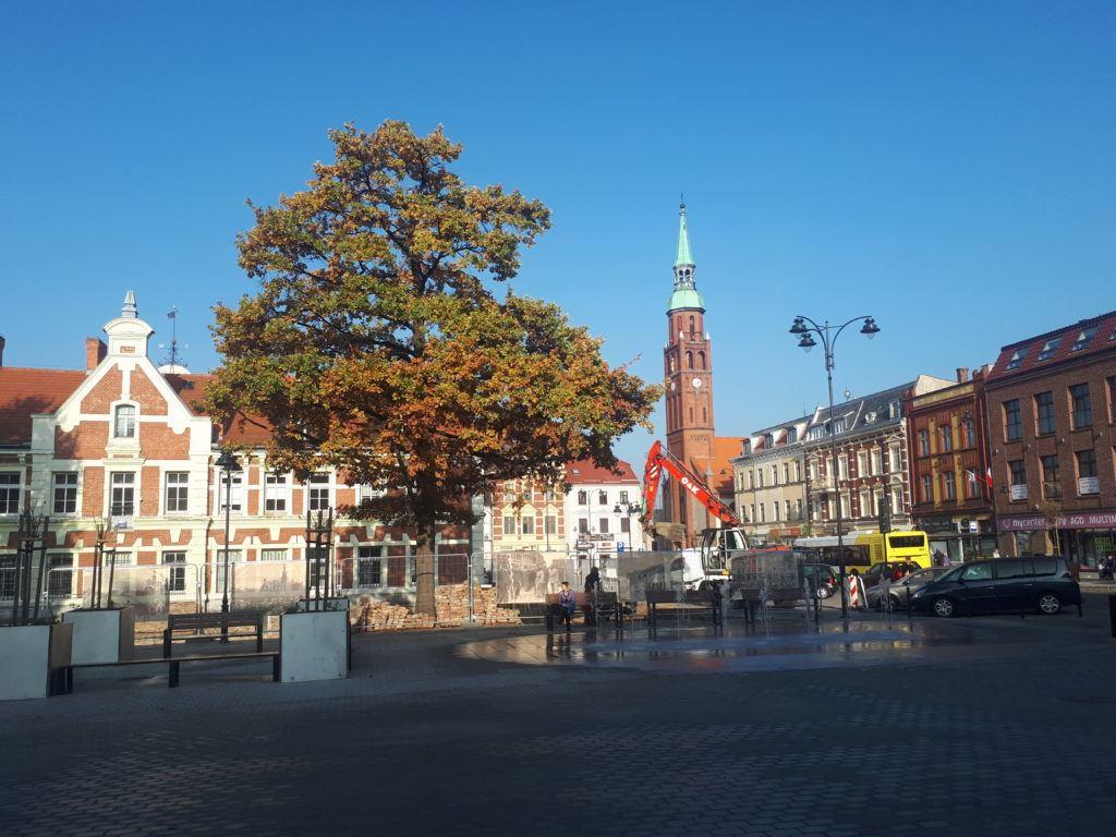 Stary Rynek, main square in Starogard Gdański