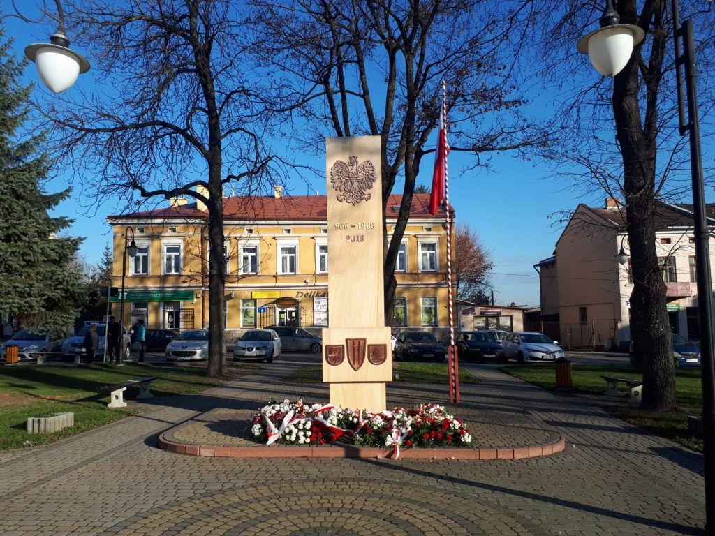 Magiczne Miasta: Randomly in Radymno, The Best Sights - War Memorial