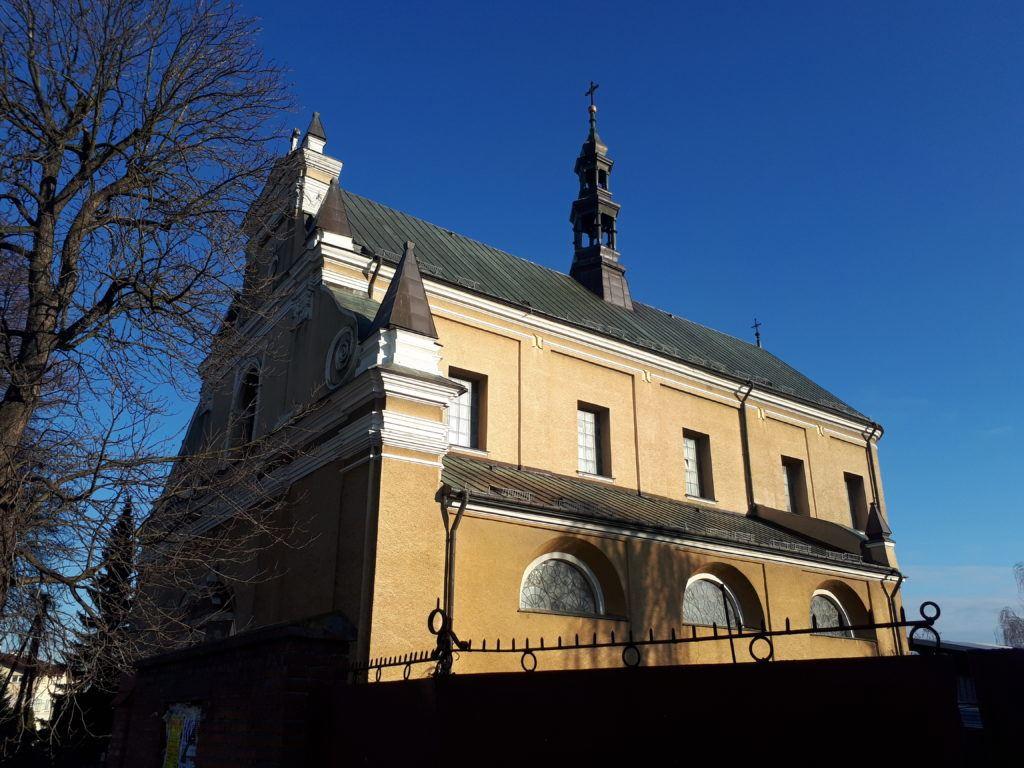 Magiczne Miasta: Randomly in Radymno, The Best Sights - St. Lawrence's Church