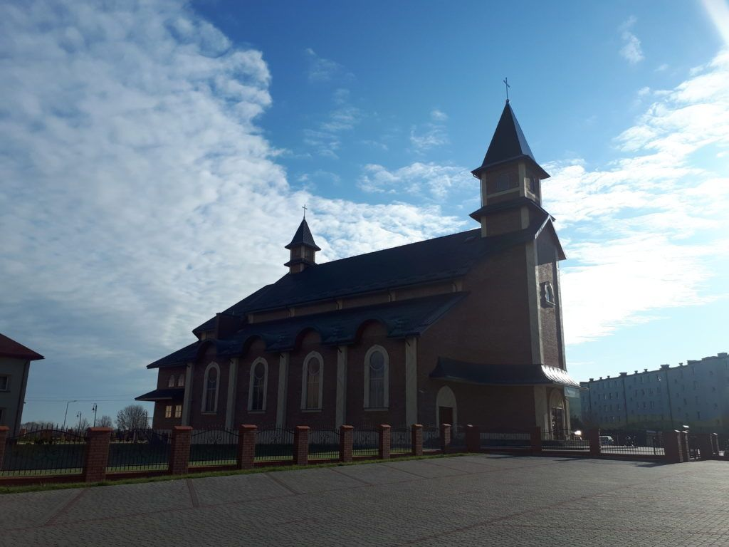 Magiczne Miasta: Randomly in Radymno, The Best Sights - Sacred Heart of Jesus Church