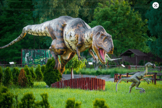 Dinosaur Land in Radymno
