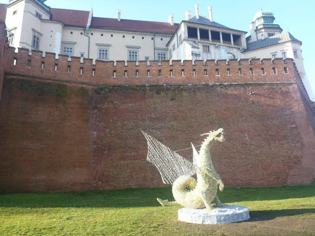 The Wawel Dragon at Wawel Castle, Kraków