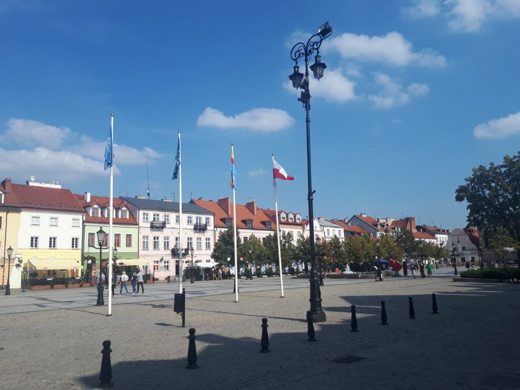 Downtown Płock, Poland