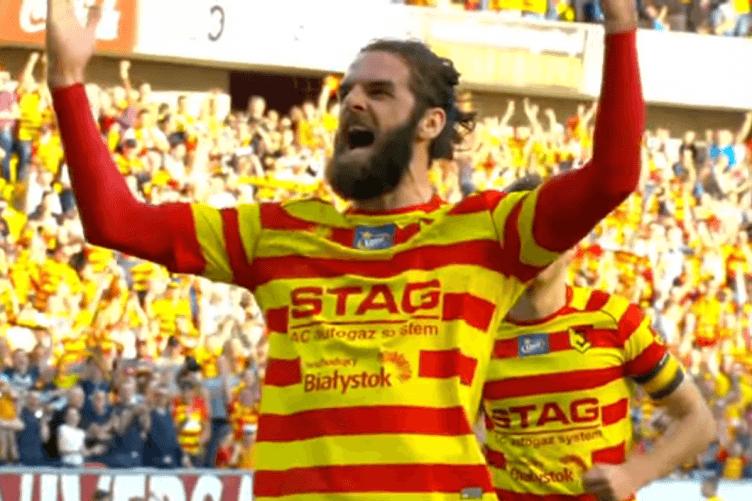 Cillian Sheridan played for Jagiellonia Białystok