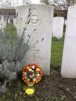 William Cowan's Grave in Krakow