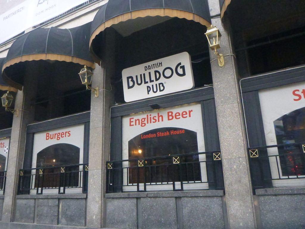 British Bulldog Pub, Warszawa