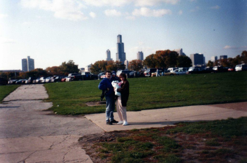 """First Trip"" - This is a picture from the first time that I traveled abroad (from Warsaw to Chicago)"