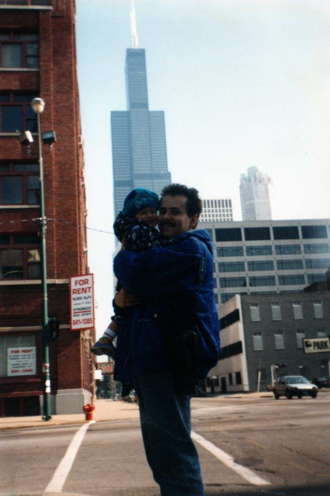 """""""First Trip"""" - This is a picture from the first time that I traveled abroad (from Warsaw to Chicago)"""