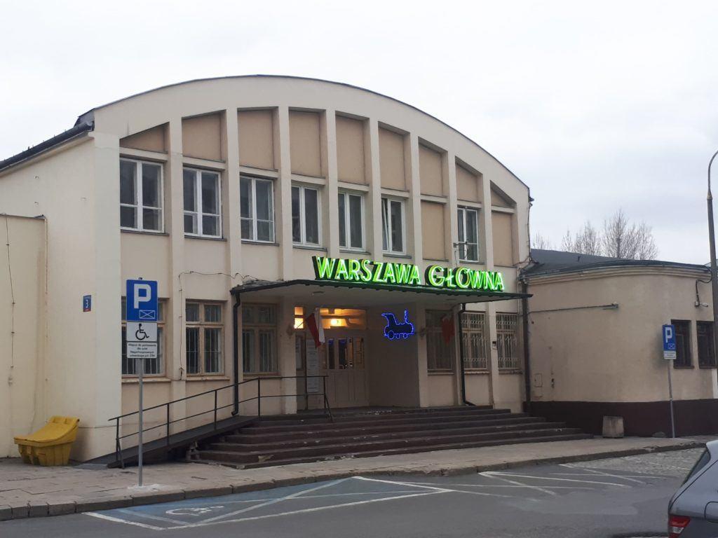 Warszawa Główna (a red herring!)