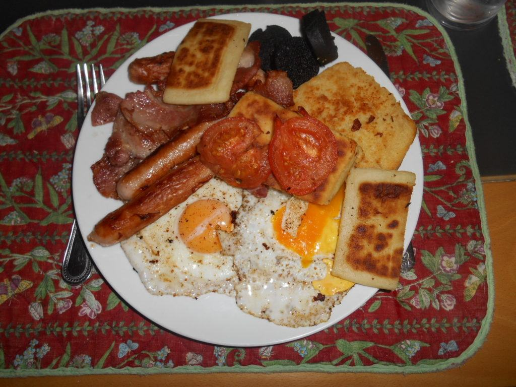 Fry Up, Northern Irish national dish.
