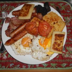 Fry Up, Northern Irish national dish.