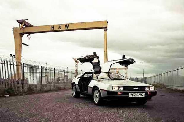 The Delorean Car - made in Dunmurry, Belfast