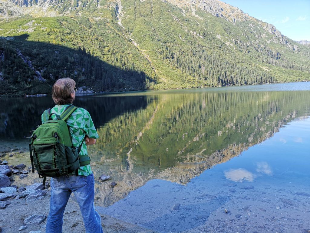 Visiting Morskie Oko for the first time