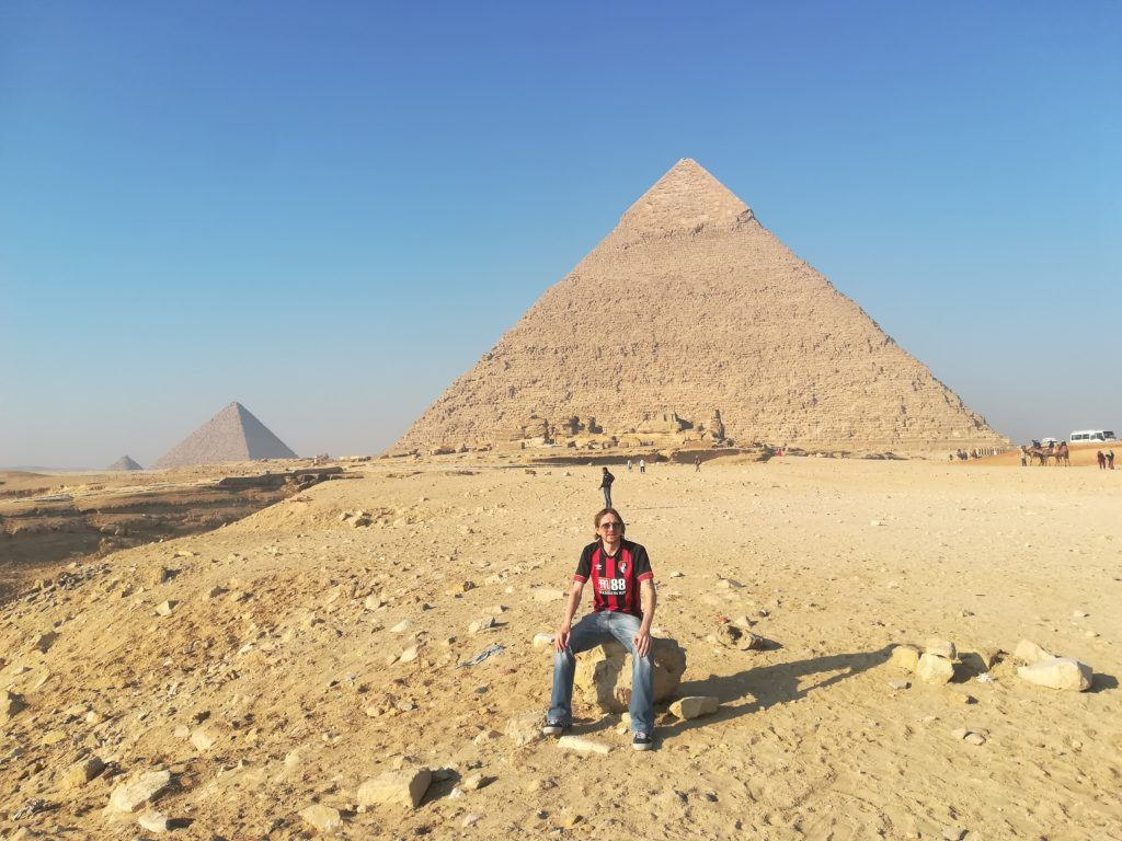 Visiting The Pyramids of Giza in Egypt